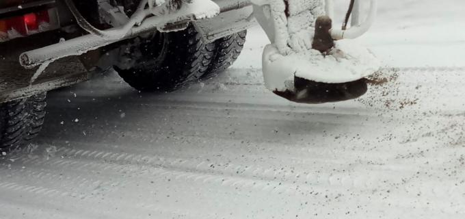 La nivelul județului Cluj traficul rutier se desfășoară în condiții specifice de iarnă