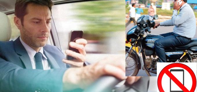 Este oficial! 1300 de lei plus 6 puncte de penalizare dacă folosești telefonul mobil în timpul mersului