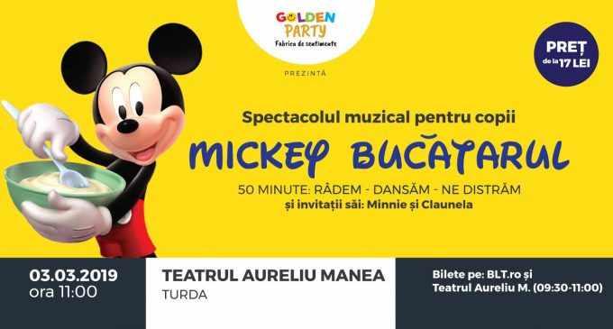 Mickey si prietenii sai vin la Turda! Acum ai ocazia sa iti intalnesti personajele favorite in cadrul celui mai distractiv spectacol pentru copii