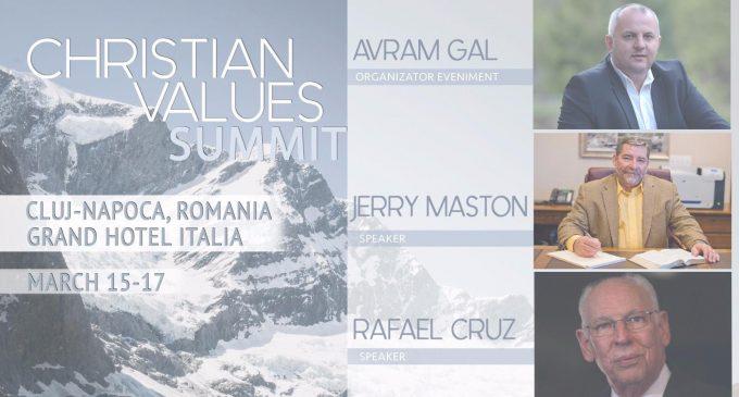 """Avram Gal, organizatorul SUMMITULUI valorilor crestine din Romania: """"Am speranta ca Romania poate sa fie o tara a valorilor"""""""