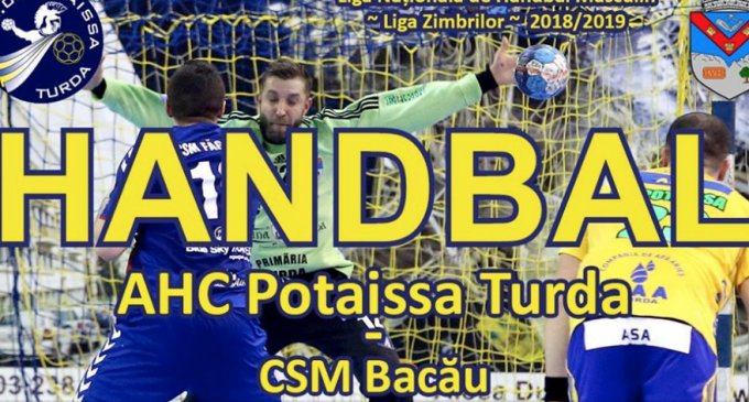 Miercuri, 13 februarie: Potaissa Turda vs. CSM Bacău