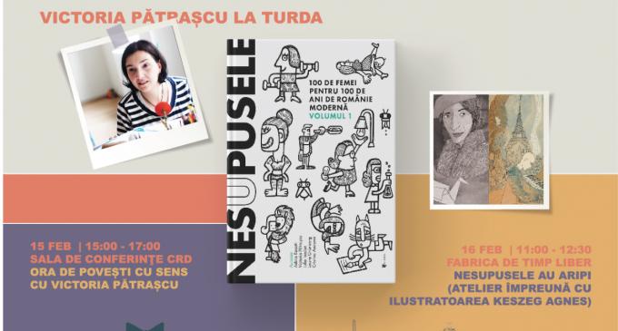 Nesupusele – Dezbateri & Ateliere împreună cu scriitoarea Victoria Pătrașcu