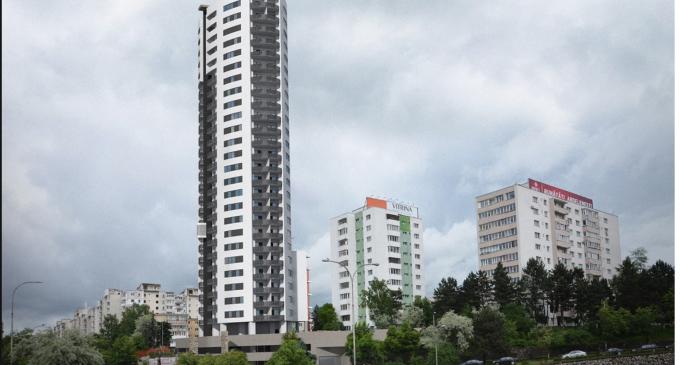 La Cluj se construiește cel mai înalt bloc de locuinte din România! FOTO