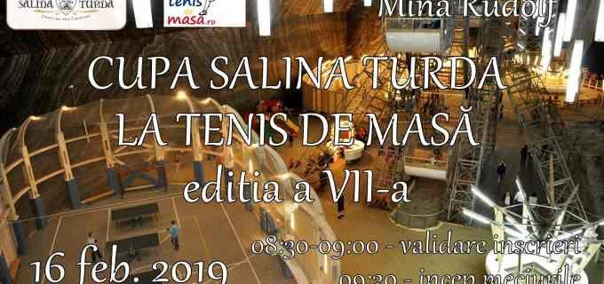 Cupa Salina Turda la Tenis de Masa, editia a VII-a
