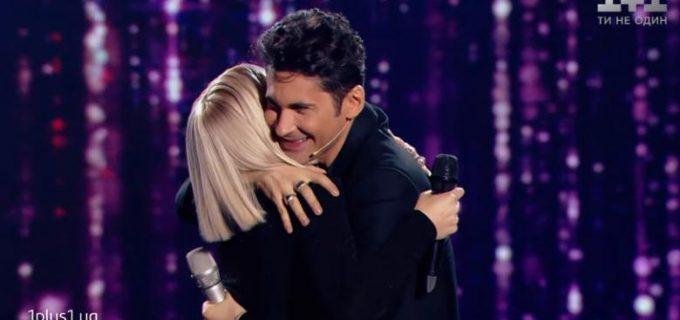 """""""Dragostea din tei"""" a făcut senzație la Vocea Ucrainei! Dan Bălan, duet alături de concurentă! VIDEO"""