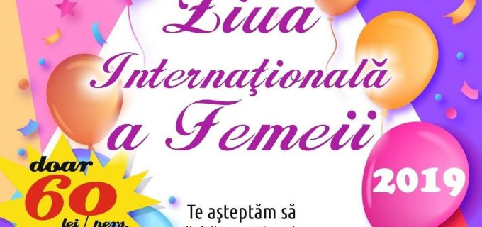 Restaurant Marele Alb organizează petrecere de Ziua Internatională a Femeii