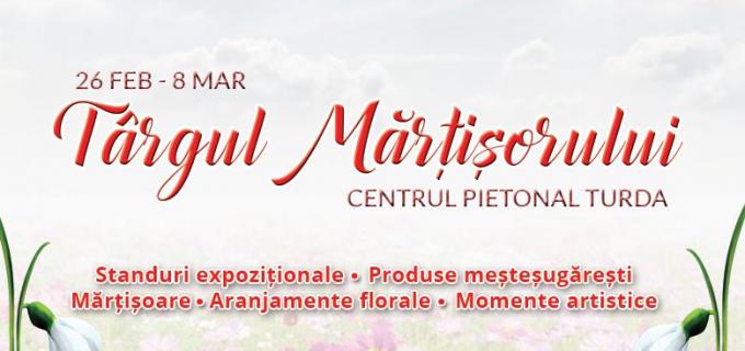 Târgul Mărțișorului la Turda: 28 februarie – 8 martie