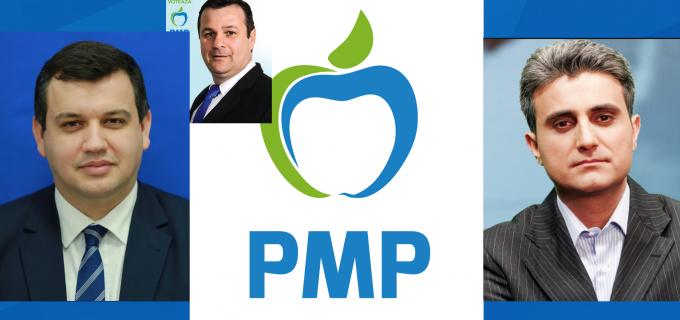 Președintele PMP România, Eugen Tomac și Deputatul Robert Turcescu vin joi, 7 martie, la Turda