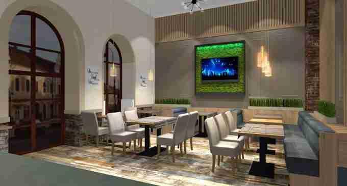 Galerie Foto: Vezi cum va arată restaurantul Alegria Centrale din Turda!