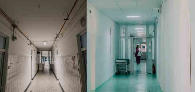 FOTO: 4 ong-uri au modernizat secția de maternitate a Spitalului Municipal Turda