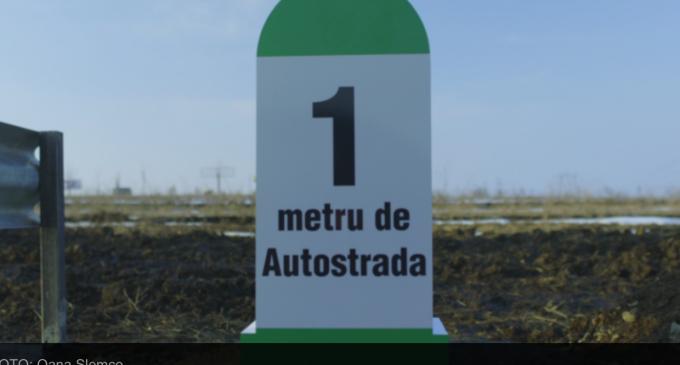 VIDEO: Un om de afaceri din Suceava a construit primul metru de autostradă din Moldova