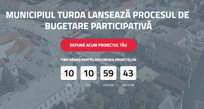 Mai sunt 10 de zile în care mai poți depune proiecte pe platforma Turda Decide!