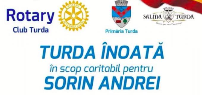 """Maraton caritabil """"TURDA ÎNOATĂ PENTRU SORIN ANDREI"""". Sorin are 4 ani și suferă de Diplegie Spastica Little"""