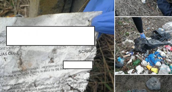Este cumva gunoiul tău?! Politia Locală Turda a identificat mai multe zone unde au fost depozitate ilegal deșeuri menajere