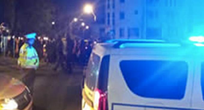 Un turdean a atacat un polițist local cu cuțitul! IPJ: L-a atacat pe unul dintre polițiști cu cuțitul și a încercat să îl lovească în zona gâtului