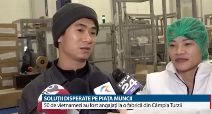 VIDEO: 50 de vietnamezi au fost angajati la fabrica La Lorraine din Câmpia Turzii