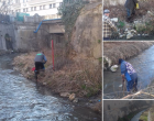 SVSU Turda continuă curătenia pe Valea Racilor