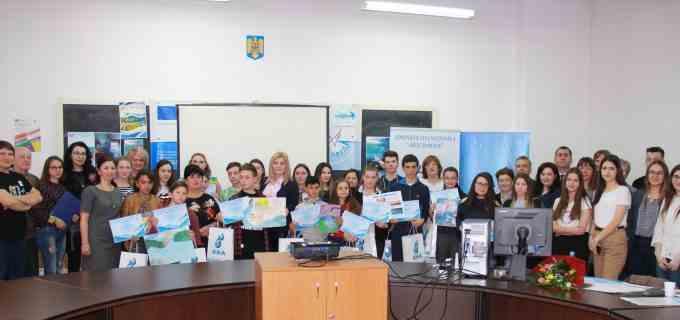 """Compania de Apă Arieș, partener al concursului regional  ,,Apa – o prioritate mondială"""", ediția a-X-a"""