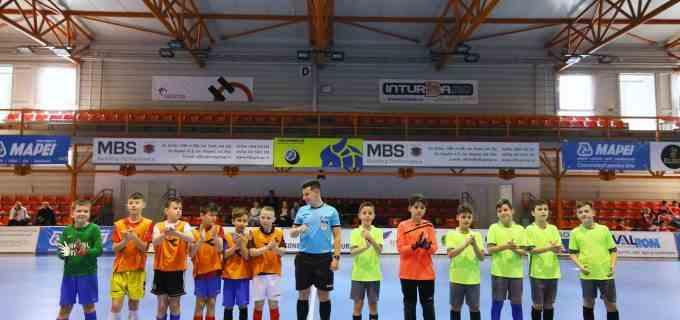 """Școala Gimnazială ,,Teodor Murășanu"""" a organizat, în parteneriat cu Inspectoratul Școlar Județean Cluj, faza județeană a Olimpiadei Naționale a Sportului școla0r – disciplina fotbal"""