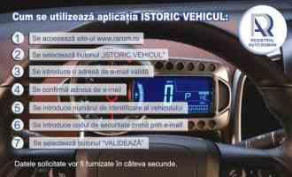 Verificarea online a istoricului unei mașini e posibilă de azi! Aplicaţia dezvoltată de RAR se accesează GRATUIT!