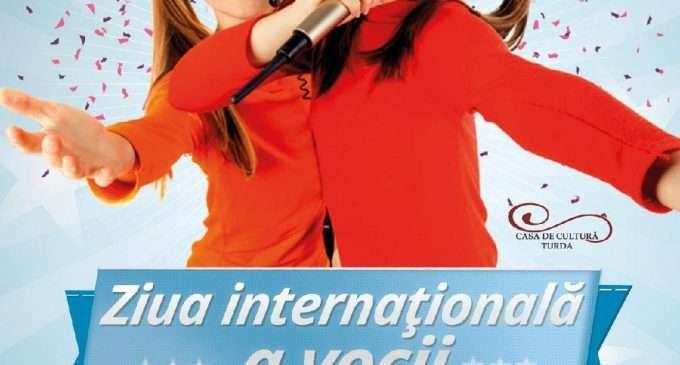 Spectacol la Turda cu ocazia Zilei Internationale a vocii