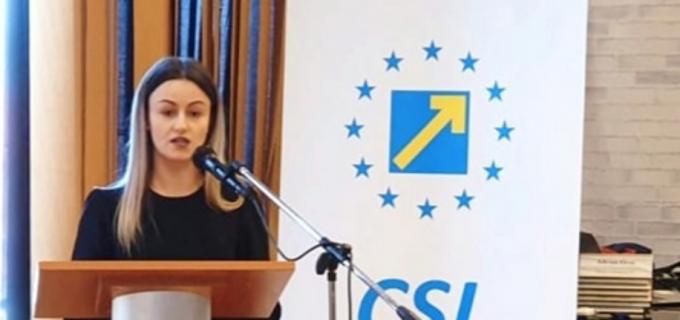 """Georgiana Sima, la alegerile CSL Cluj: """"50% din tinerii sub 30 de ani și-au exprimat intenția de a părăsi România"""""""