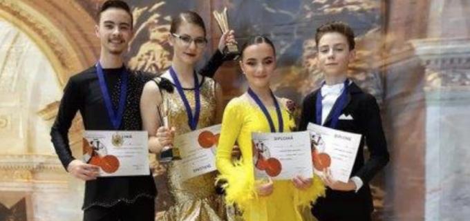 "7 medalii pentru dansatorii turdeni la Cupa ""Muhlbach"" Sebeș"