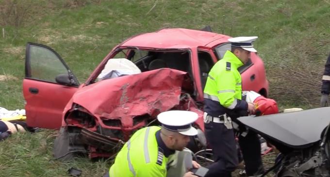 VIDEO: Accident mortal în această dimineată în judetul Cluj