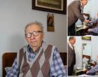 Foto/Video: Primarul Municipiului Turda, Cristian Octavian Matei, în vizită la domnul Bucur Cornel Iosif, unul dintre cei șase eroi în viață, veteranii de razboi ai Turzii!