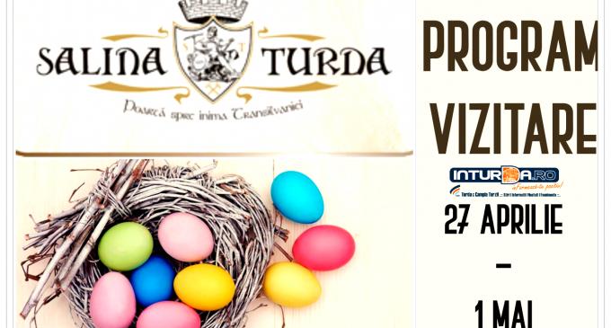 Salina Turda – Program de vizitare în perioada Sărbătorilor Pascale