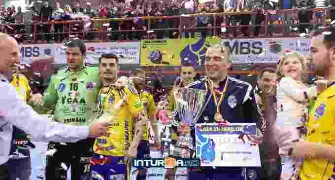 VIDEO: Victorie cu CSM București! Potaissa Turda a luat medaliile de bronz ale Ligii Zimbrilor