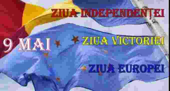 Programul manifestărilor de Ziua Independentei, Ziua Victoriei, Ziua Europei, 9 mai 2019, la Câmpia Turzii