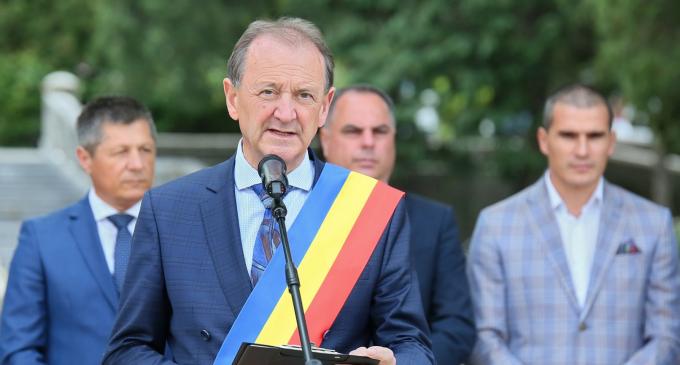 Foto/Video: Ziua de 9 Mai a fost sărbătorită la Turda. Matei Cristian: La mulți ani, România! La mulți ani, Europa!