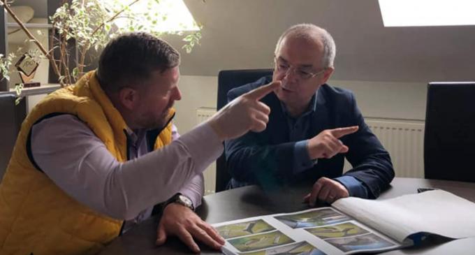 Emil Boc în vizită la Primăria Câmpia Turzii. Dorin Lojigan: Vă mulțumim, domnule primar ca sunteți alături de Câmpia Turzii.