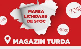 Lichidare de stoc la magazinul de mobilă Kalenda din Turda