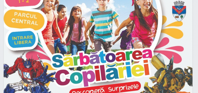Parcul Central Turda se transformă în orășelul fantastic al copiilor în perioada 1-2 iunie! Vezi aici PROGRAMUL evenimentelor