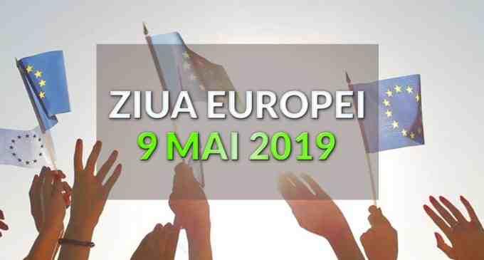 Ceremonial militar – religios organizat de Primăria Turda joi, 9 mai 2019, cu ocazia Zilei Europei