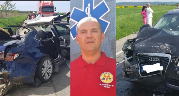 ISU Cluj – Despre SALVATORUL de la accidentul produs între localitățile Luna și Luncani