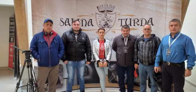 Postul public de televiziune din Armenia a filmat o emisiune în Salina Turda