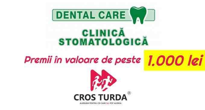 Alergi la CROS TURDA?! Dental Care oferă vouchere în valoare de 500 lei pentru câștigători + reducere la detartraj pentru toți participanții