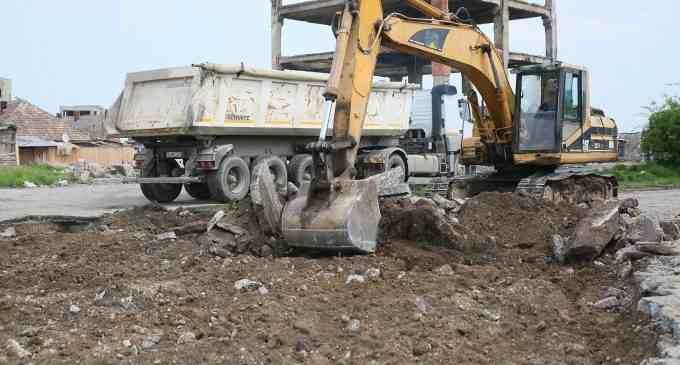 Primăria Turda a demarat lucrările de modernizare a Cartierului Industrial