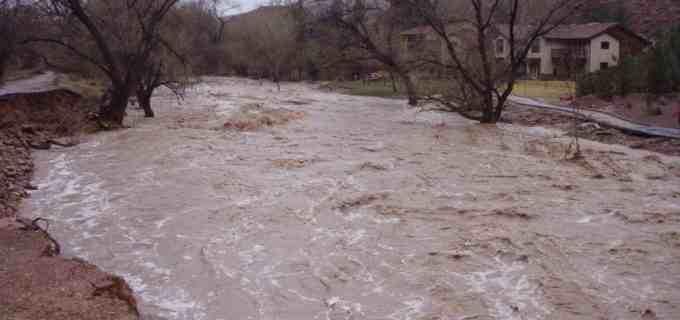ISU Cluj: Inundații în Băișoara