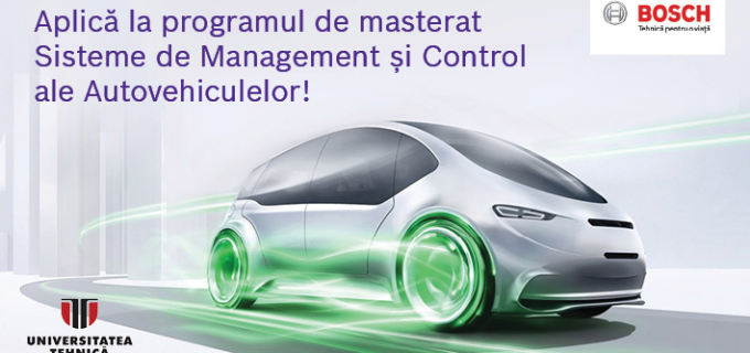 Bosch lansează un nou program de masterat în colaborare cu Universitatea Tehnică din Cluj