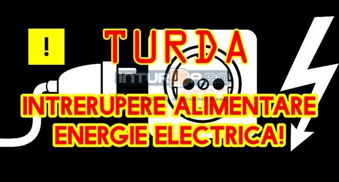 Electrica anunță întreruperea energiei electrice pe mai multe străzi din Turda