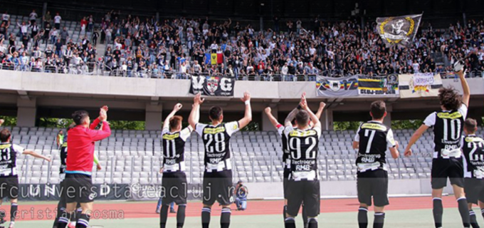 Meciul de baraj al Universității Cluj se dispută pe Cluj Arena
