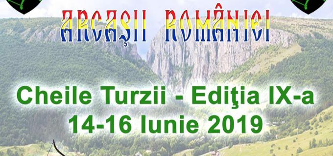 Arcașii României se întâlnesc la Cheile Turzii în acest weekend
