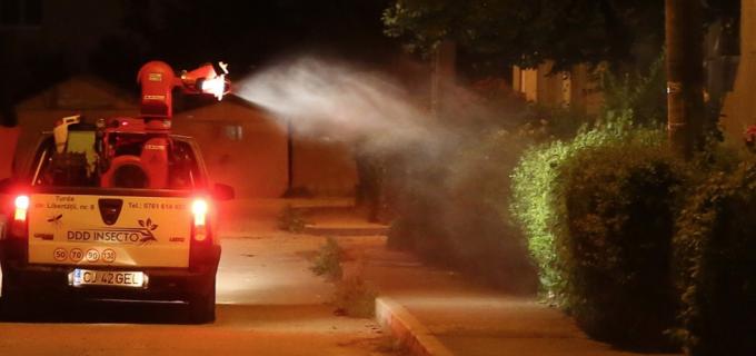 Operatiuni de dezinsectie pe domeniul public Turda în perioada 21-29 iulie