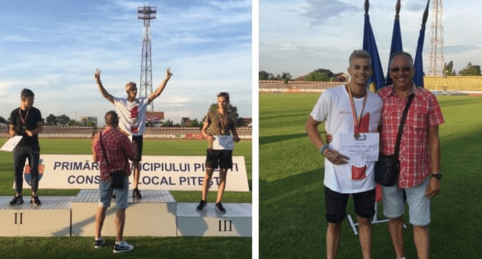 VIDEO: Turdeanul Samuel Bucșa, campion național la juniori 1, cu o săritură de 7,93 metri!