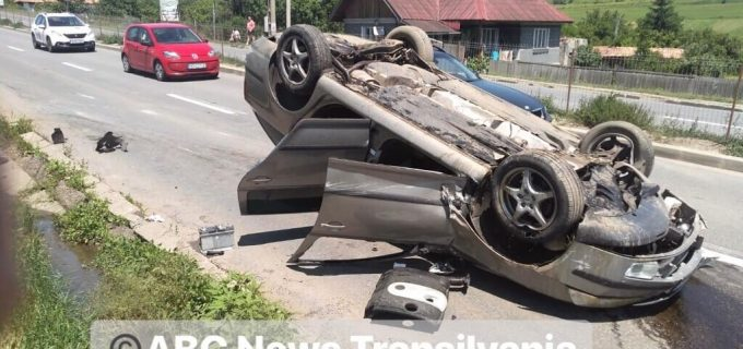 Accident GRAV în Vâlcele