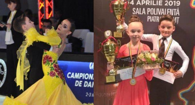 Două perechi de dansatori ai Clubului de Dans Sportiv Potaissa Turda, convocate la Lotul National